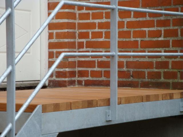 trappe i galvamiseret